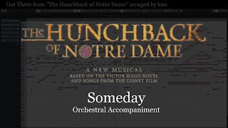 "Out There -""The Hunchback of Notre Dame"" Orchestral Accompaniment Arranged by kno"