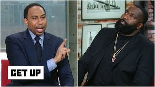 Stephen A. gets heated when Kendrick Perkins says LeBron is being disrespected | Get Up