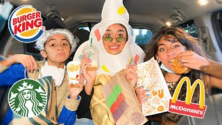 Drive Thru PRANK Halloween Costumes - Trick or Treating | GEM Sisters