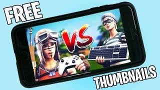 How to Make 3D Fortnite Thumbnails on Phone FREE & EASY 2020 (NO COMPUTER)