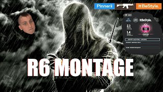 EVEN PROS ARE AFRAID OF ME (R6 MONTAGE)