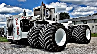 World's LARGEST Tractor Gets World's LARGEST Ag Tires! - EPIC! - BIG BUD 747