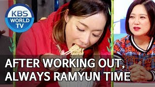 After working out, it's always ramyun time [Boss in the Mirror/ENG/2019.12.29]