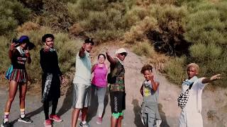 Will Smith and Family on Vacation: Snorkeling and mountain trekking on a  volcanic island