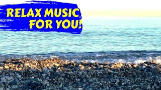 Relax Music for Stress Relief. Meditation music with ocean waves. Relaxing music for a great sleep.