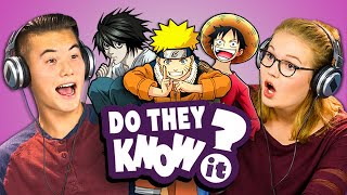DO TEENS KNOW 2000s ANIME? (REACT: Do They Know It?)