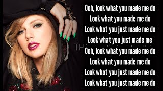#Taylor Swift#Look What You Made Me Do Taylor Swift - Look What You Made Me Do ||Lyrics|| (2020)
