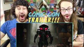 AQUAMAN - Official TRAILER 1 REACTION!!!