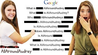 Answering Googles Most Asked AllAroundAudrey Questions
