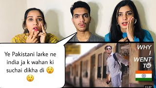 Pakistani Boy Visit to India For the First time | Pakistani Reaction | Magisco Reactions |NayabSehar