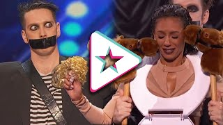 Tape Face's INCREDIBLE Journey on America's Got Talent!