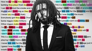 "J. Cole's Verse On 21 Savage's ""a lot"" 