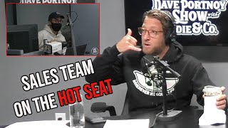 Dave Portnoy Calls Out the Barstool Sports Sales Team