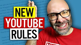 YouTube Monetization Changes For Small Channels