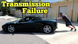 We FIXED The Salvage Ferrari 360! Then it BROKE DOWN 10 Minutes Later!