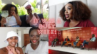 A SUPER BUSY WEEK- A JOANNA K SHOOT + BEING ON A PANEL | WEEKLY VLOG
