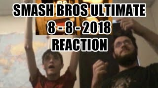 WHAT? HOW? AND WOW!!! SUPER SMASH BROS ULTIMATE DIRECT (8 - 8 - 2018) REACTION (with ThemeThug)