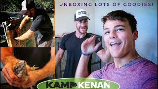 4 New LIZARDS unboxing & Set Up with Paul Cuffaro!