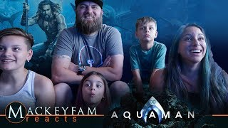 Aquaman - Official Trailer 1- REACTION and REVIEW!!!