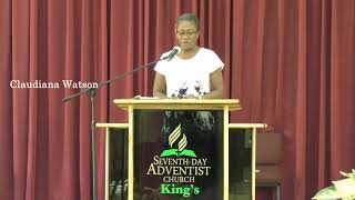 Prayer Meeting - Seventh-day Adventist Church, King's