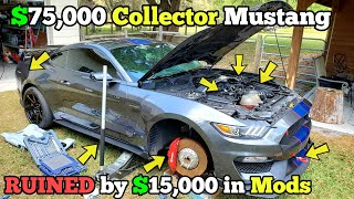 I Bought a SEVERELY DEVALUED Shelby GT350R Mustang and I'm Restoring it back to Factory OEM!