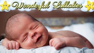 8 Hours Super Relaxing Baby Music ♥♥ Most Soothing Bedtime Lullaby No. 9 ♫♫ Cute Smiling Baby Asleep