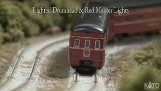 Kato Product Preview - January 2020 - N Broadway Limited and GG1 locomotives