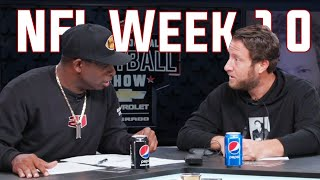 Prepare for NFL Sunday with the Barstool Sports Pro-Football Football Show + Live Aftershow