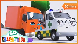 Accidents Happen | Go Buster | Baby Cartoons | Kids Videos | ABCs and 123s