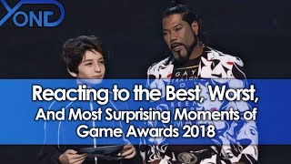 Reacting to the Best, Worst, and Most Surprising Moments of Game Awards 2018