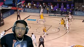LEBRON DID IT AGAIN!!! Lakers vs. Clippers (REACTION!!!)