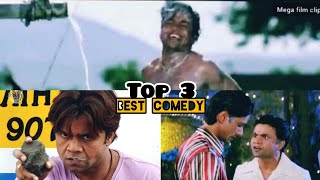Rajpal yadav, jhon lever, best comedy scene|| top 3 video clips