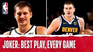 Nikola Jokic's Best Plays From Every Game!