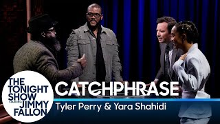 Catchphrase with Tyler Perry and Yara Shahidi