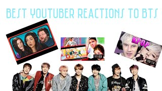 Best YouTuber Reactions to BTS | Bangbangtan