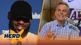 Colin Cowherd on LeBron joining Lakers, Magic as better GM than Michael Jordan | NBA | THE HERD