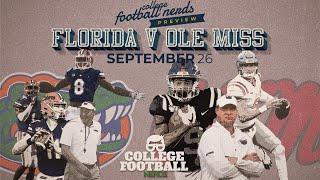 Florida Gators vs Ole Miss Rebels - College Football Preview - Return of Lane Kiffin