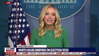 YOU WILL SEE: Kayleigh McEnany REMINDS Media That Election IS NOT OFFICIAL YET