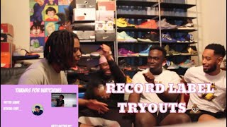 Lenarr - Record Label Tryouts | REACTION