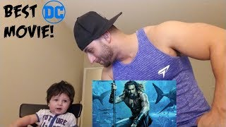 AQUAMAN Trailer [REACTION]