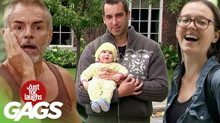 Best of Dad Pranks | Just For Laughs Compilation