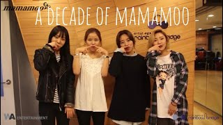 a decade of mamamoo