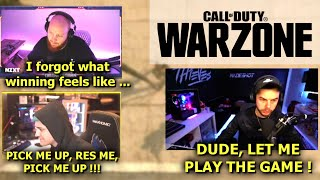 Nadeshot RAGES at Ninja For Constantly Complaining About his Teammates ! (Call of Duty Warzone)