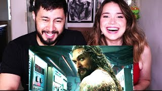 AQUAMAN | Comic-Con 2018 | Trailer Reaction!