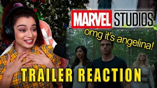 REACTION: Official MCU Phase 4 Trailer (Eternals, Black Panther Wakanda Forever, & More)