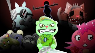 """LEGENDS NEVER DIE"" (AMNESIA 4)  ANIMATION happy tree friends"