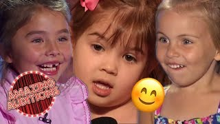 CUTEST Auditions EVER On Got Talent And Idols