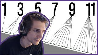 XQC REACTS to The Odd Number Rule