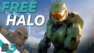 HALO INFINITE Will Be The Biggest Halo Game Ever Made...And Its Multiplayer Is FREE!