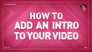 How to Add an Intro to Your Videos —— by Intro Maker &Vlog Star(Free App for iOS & Android)